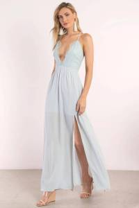 Opposites Attract Lace Maxi